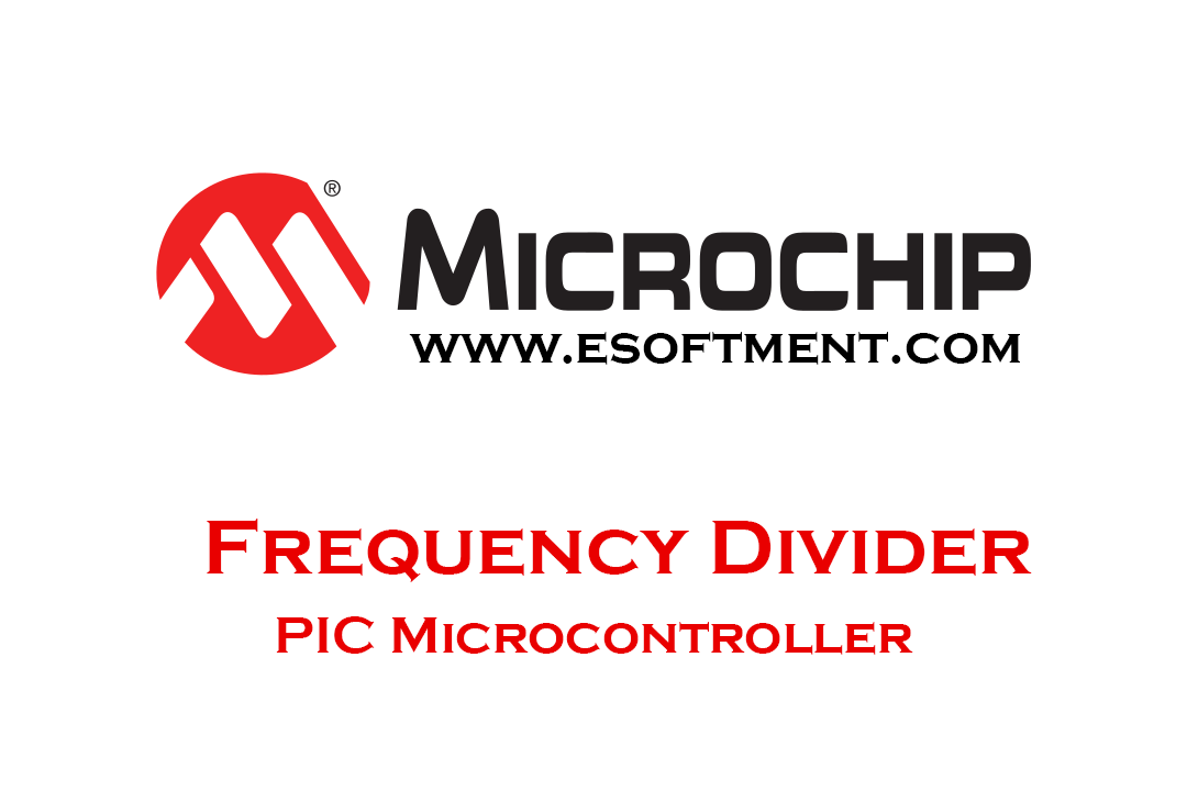 Frequency divider with PIC Microcontroller