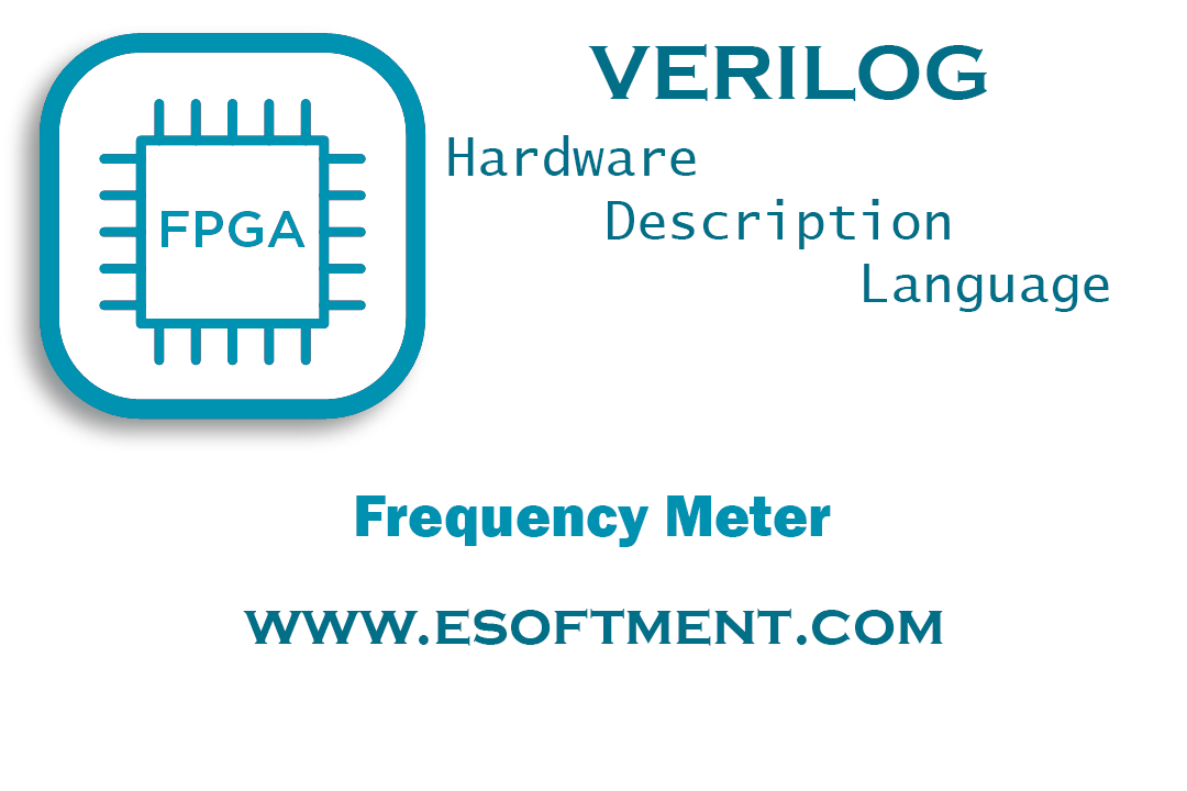 Verilog Frequency Meter Sample Project